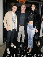 LONDON, ENGLAND - NOVEMBER 26: Ronan Keating, Missy Keating and guest at the Biltmore Hotel launch party, The Biltmore, Grosvenor Square on Tuesday 26 November 2019 in London, England, UK. <br /> CAP/CAN<br /> ©CAN/Capital Pictures