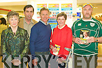 Eamon Coghlan Former world athlete visited CH Chemist on Thursday promoting Lifes 2 Good Magnetic Therapy products were Marie Kissane, John McNamara, Eamon Coghlan, Ai?ne Lawlor and Thomas Mullins.