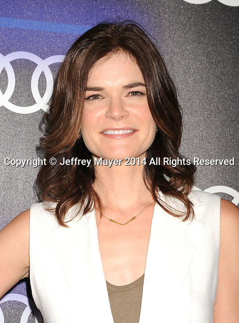 LOS ANGELES, CA- AUGUST 21: Actress Betsy Brandt arrives at the Audi Emmy Week Celebration at Cecconi's Restaurant on August 21, 2014 in Los Angeles, California.