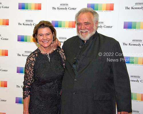 Herbert V. Kohler and his wife, Natalie Black, arrive for the formal Artist's Dinner honoring the recipients of the 39th Annual Kennedy Center Honors hosted by United States Secretary of State John F. Kerry at the U.S. Department of State in Washington, D.C. on Saturday, December 3, 2016. The 2016 honorees are: Argentine pianist Martha Argerich; rock band the Eagles; screen and stage actor Al Pacino; gospel and blues singer Mavis Staples; and musician James Taylor.<br /> Credit: Ron Sachs / Pool via CNP