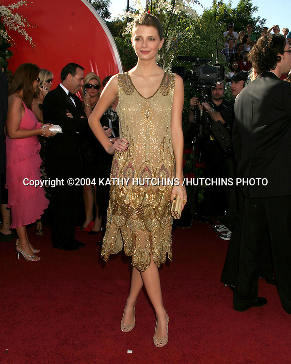 ©2004 KATHY HUTCHINS /HUTCHINS PHOTO.56TH ANNUAL PRIMETIME EMMY'S.SHRINE AUDITORIUM.LOS ANGELES, CA.SEPTEMBER 19, 2004..MISCHA BARTON