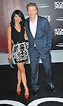 Alec Baldwin and date Hilaria Thomas at the world premiere of Rock of Ages, held at the Grauman's Chinese Theater in Hollywood, CA. June 8, 2012