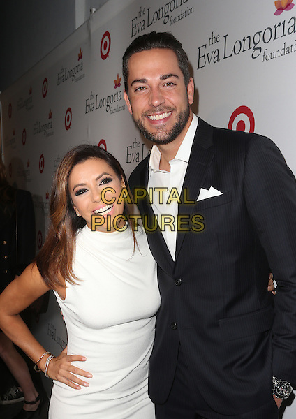 Hollywood, CA - November 05 Eva Longoria, Zachary Levi Attending The Eva Longoria Foundation Annual Dinner - Arrivals  At Beso On November 05, 2015. <br /> CAP/MPI/UPAFS<br /> &copy;FSUPA/MPI/Capital Pictures