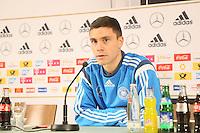 27.03.2015: Pressekonferenz der Deutschen Nationalmannschaft