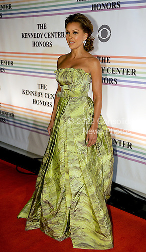 Washington, DC - December 2, 2007 -- Vanessa Williams arrives at the John F. Kennedy Center for the Performing Arts for the gala performance honoring the 30th Annual Kennedy Center honorees in Washington, D.C. on Sunday, December 2, 2007. The honorees for 2007 are: Leon Fleischer, Steve Martin, Diana Ross, Martin Scorsese, and Brian Wilson..Credit: Ron Sachs / CNP