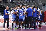 handball wordl cup match between France vs Argentina. team france . 2015/01/26. Doha. Qatar. Alberto de Isidro.Photocall 3000