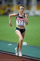 Deena Kastor  finished 6th. in the 10,000m run with a time of 32:24.58 at the 11th. IAAF World Championship being held in Osaka,Japan on Saturday, August 25, 2007.Photo by Errol Anderson,The Sporting Image.