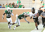 DENTON, TX - AUGUST 31: North Texas Mean Green defensive back Freddie Warner (21) of the North Texas Mean Green Football vs Idaho Vandals at Apogee Stadium in Denton on August 31, 2013 in Denton, Texas. Photo by Rick Yeatts