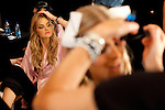 NEW YORK - NOVEMBER 19, 2009:  Behind the scenes at the Victoria's Secret Fashion Show at the Armory on Nobemver 19, 2009 in New York City.  (Photo by Michael Nagle)