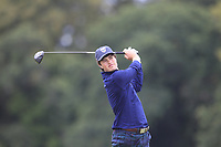 Cole Hammer of Team USA on the 8th tee during Round 3 of the WATC 2018 - Eisenhower Trophy at Carton House, Maynooth, Co. Kildare on Friday 7th September 2018.<br /> Picture:  Thos Caffrey / www.golffile.ie<br /> <br /> All photo usage must carry mandatory copyright credit (&copy; Golffile | Thos Caffrey)