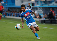 27th October 2019; Stadio Paolo Mazza, Ferrara, Emilia Romagna, Italy; Serie A Football, SPAL versus Napoli; Lorenzo Insigne of Napoli controls the ball - Editorial Use