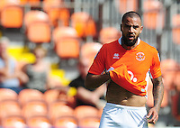 Blackpool's Kyle Vassell<br /> <br /> Photographer Kevin Barnes/CameraSport<br /> <br /> Football - The EFL Sky Bet League Two - Blackpool v Exeter City - Saturday 6th August 2016 - Bloomfield Road - Blackpool<br /> <br /> World Copyright &copy; 2016 CameraSport. All rights reserved. 43 Linden Ave. Countesthorpe. Leicester. England. LE8 5PG - Tel: +44 (0) 116 277 4147 - admin@camerasport.com - www.camerasport.com