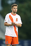 20 September 2013: Syracuse's Juuso Pasanen (FIN). The Duke University Blue Devils hosted the Syracuse University Orangemen at Koskinen Stadium in Durham, NC in a 2013 NCAA Division I Men's Soccer match. Syracuse won the game 2-1.
