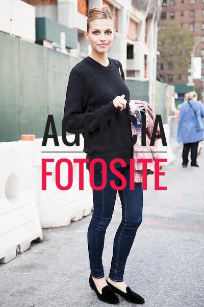 Nova Iorque, EUA &sbquo;09/09/2013 - Moda de rua durante a Semana de moda de Nova Iorque  -  Verao 2014. <br /> Foto: FOTOSITE
