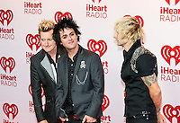 LAS VEGAS, NV - September 21: Green Day  pictured at iHeart Radio Music Festival at MGM Grand Resort on September 21, 2012 in Las Vegas, Nevada..    © RD/ Kabik/ Starlitepics / Mediapunchinc /NortePhoto<br />