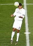 Real Madrid's Raphael Varane during La Liga match. October 4,2015. (ALTERPHOTOS/Acero)