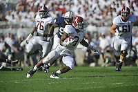 10 September 2011:  Alabama RB Trent Richardson (3). The Alabama Crimson Tide defeated the Penn State Nittany Lions 27-11 at Beaver Stadium in State College, PA..