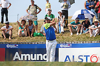 Jaco Van Zyl (RSA) drives to the 17th during Round Three of the 2015 Alstom Open de France, played at Le Golf National, Saint-Quentin-En-Yvelines, Paris, France. /04/07/2015/. Picture: Golffile | David Lloyd<br /> <br /> All photos usage must carry mandatory copyright credit (© Golffile | David Lloyd)