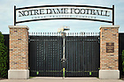 June 13, 2011; LaBar Practice Complex gate..Photo by Matt Cashore/University of Notre Dame