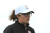 Emily Toy (ENG) wins on the 18th during the Matchplay Semi-Final of the Women's Amateur Championship at Royal County Down Golf Club in Newcastle Co. Down on Saturday 15th June 2019.<br /> Picture:  Thos Caffrey / www.golffile.ie