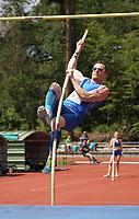 Felix Trogisch (TuS 78 Heidelberg) beim Stabhochsprung - Moerfelden-Walldorf 11.07.2020: Sportfest der LG Moerfelden-Walldorf