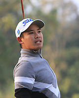 Rattanon Wannasrichan (THA) on the 14th tee during Round 1 of the UBS Hong Kong Open, at Hong Kong golf club, Fanling, Hong Kong. 23/11/2017<br /> Picture: Golffile | Thos Caffrey<br /> <br /> <br /> All photo usage must carry mandatory copyright credit     (&copy; Golffile | Thos Caffrey)