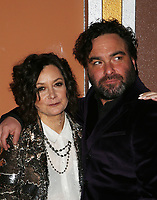 LOS ANGELES, CA - JANUARY 5: Sara Gilbert, Johnny Galecki, at the J/P HRO &amp; Disaster Relief Gala hosted by Sean Penn at Wiltern Theater in Los Angeles, Caliornia on January 5, 2019.            <br /> CAP/MPI/FS<br /> &copy;FS/MPI/Capital Pictures