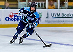 1 December 2018: University of Maine Black Bear Forward Michelle Weis, a Sophomore from Charlottenlund, Denmark, in third period action against the University of Vermont Catamounts at Gutterson Fieldhouse in Burlington, Vermont. The Lady Cats defeated the Lady Bears 3-2 in the second game of their 2-game Hockey East series. Mandatory Credit: Ed Wolfstein Photo *** RAW (NEF) Image File Available ***