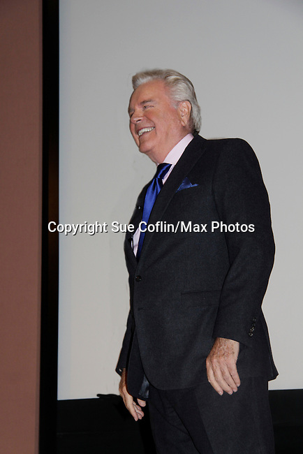 "Actor Robert Wagner is the author of ""You Must Remember This - Life and Style in Hollywood's Golden Age"" and he speaks and signs the book on March 13, 2014 at the Greenwich Library, Greenwich, Connecticut.  (Photo by Sue Coflin/Max Photos)"