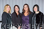 Jolanta Gromczak, Laura Cullinane, Elaine O'Connell and Anne McCarthy at the Alps Electrical social in the Malton Hotel on Saturday night