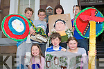 MUSEUM CLUB: Learning about history with art at the Museum Kids History Club in the Kerry County Museum on Saturday front l-r: Ursula Carly, Ard na Li, James Cilfford, Garryruth and Laura Ashley O'Sullivan, Listellig. Back l-r: Ciaran Carly, Ard Na Li, Donnagh Broderick, Cloghers, Aoife McLoughlin, Ballyvelly and Doragh Hartnett, Ballinorg.   Copyright Kerry's Eye 2008