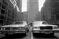 - New York, cars in Park Avenue....- New York, automobili in Park Avenue....