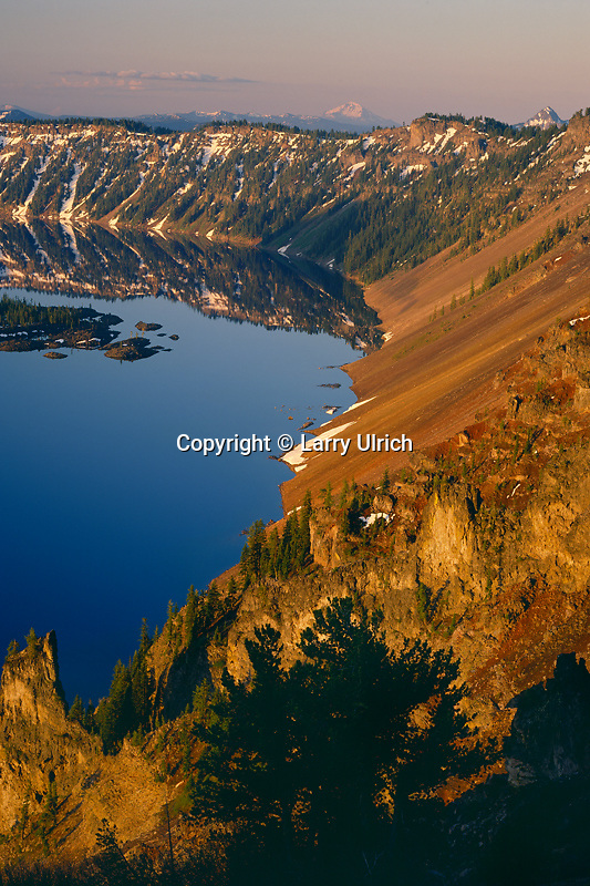 Mt. McLoughlin and the West Rim<br />