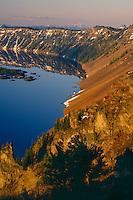 Mt. McLoughlin and the West Rim<br />    from Hillman Peak<br /> Crater Lake National Park<br /> Cascade Range, Oregon
