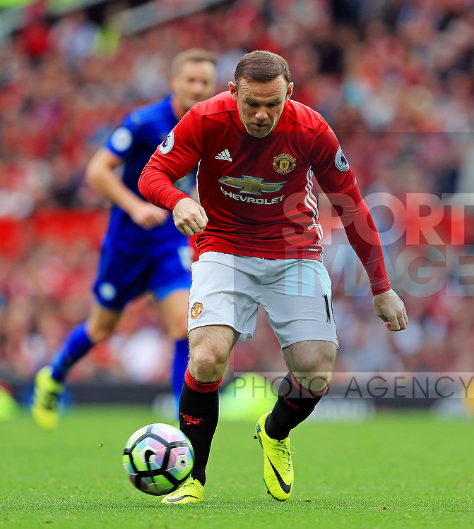 Wayne Rooney of Manchester United during the Premier League match at Old Trafford Stadium, Manchester. Picture date: September 24th, 2016. Pic Sportimage
