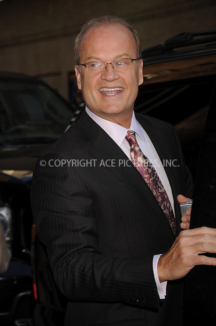 WWW.ACEPIXS.COM . . . . . ....April 15 2008, New York City....Actor Kelsey Grammer appeared on the 'Late Show With David Letterman' at the Ed Sullivan Theatre in midtown Manhattan ....Please byline: KRISTIN CALLAHAN - ACEPIXS.COM.. . . . . . ..Ace Pictures, Inc:  ..(646) 769 0430..e-mail: info@acepixs.com..web: http://www.acepixs.com