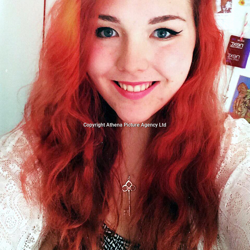 """Pictured: Lauren McQuaid, image taken from her open facebook account<br /> Re: A Cardiff student described as """"a happy, bright girl"""" took her own life after suffering from exam pressures, an inquest has heard.<br /> Lauren McQuaid was found dead at the age of 21 at her student home in Cathays by her boyfriend Michael Wanklin.<br /> Assistant coroner Thomas Atherton told Cardiff Coroner's court Ms McQuaid died on April 28 after an overdose of antidepressants.<br /> She was working hard on her coursework<br /> In a statement read out by the coroner, Mr Wanklin said third-year Cardiff University Biochemistry student Ms McQuaid had told him she needed space to work on her coursework but they had arranged to meet at Costa in Albany Road on April 27."""