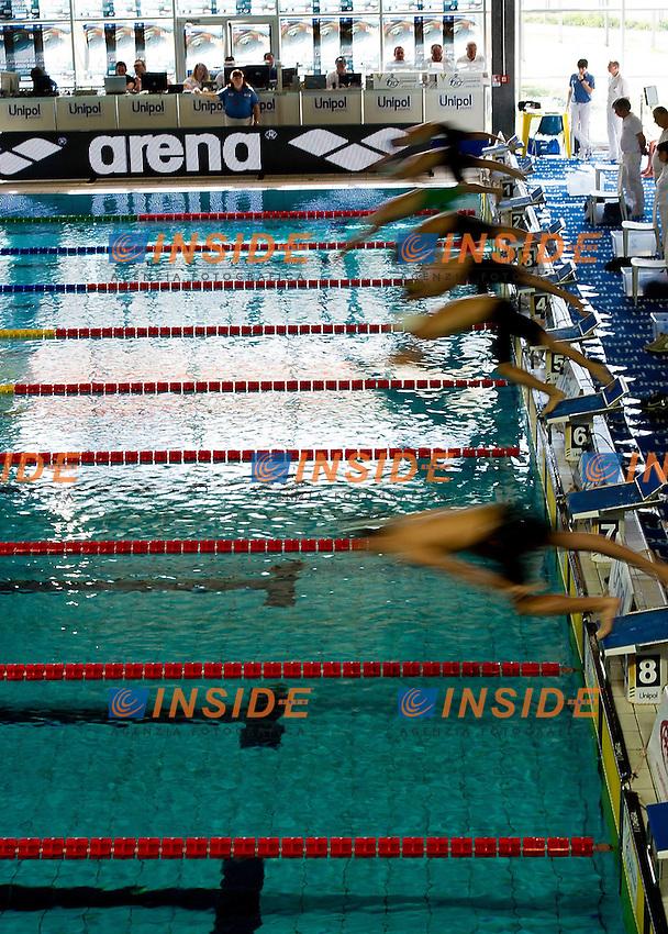 Campionati Italiani Assoluti Nuoto Primaverili.Riccione  9 - 13/04/2013.Day03 - heats.Photo Giorgio Scala/Deepbluemedia/Insidefoto