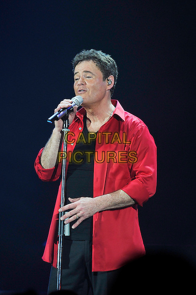 LONDON, ENGLAND - JANUARY 31: Donny Osmond performing at Eventim Apollo on January 31, 2017 in London, England.<br /> CAP/MAR<br /> &copy;MAR/Capital Pictures