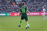 15.04.2018, Weser Stadion, Bremen, GER, 1.FBL, Werder Bremen vs RB Leibzig, im Bild<br /> <br /> Niklas Moisander (Werder Bremen #18)<br /> <br /> Foto &copy; nordphoto / Kokenge