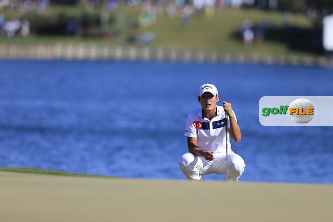 Danny Lee (NZL) during round 3 of the Players, TPC Sawgrass, Championship Way, Ponte Vedra Beach, FL 32082, USA. 14/05/2016.<br /> Picture: Golffile | Fran Caffrey<br /> <br /> <br /> All photo usage must carry mandatory copyright credit (&copy; Golffile | Fran Caffrey)