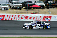 July 15, 2017 - Loudon, New Hampshire, U.S. - Chris Buescher, Monster Energy NASCAR Cup Series driver of the Liberty Tax Service Chevrolet (37), runs in the NASCAR Monster Energy Overton's 301 final practice round held at the New Hampshire Motor Speedway in Loudon, New Hampshire. Larson placed first in the qualifier. Eric Canha/CSM