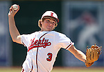Liberty's Trevor Mullaney pitches against Centennial in the NIAA Division I state baseball championship game, in Reno, Nev., on Saturday, May 24, 2014. Liberty defeated Centennial 5-3 to win the title. (Las Vegas Review-Journal, Cathleen Allison)
