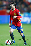 Spain's David Jimenez Silva during FIFA World Cup 2018 Qualifying Round match. March 24,2017.(ALTERPHOTOS/Acero)