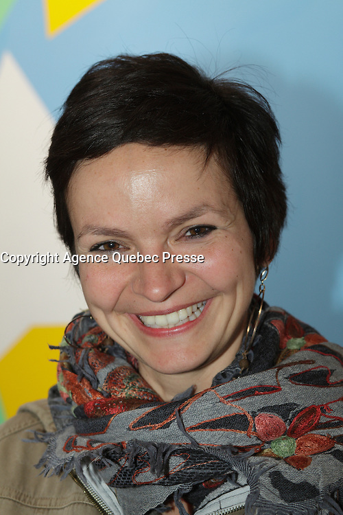 April 17, 2013 - Montreal, Quebec,  CANADA -  Ana&iuml;s Barbeau-Lavalette attend a retrospective of her grandfather Marcel  Barbeau paintings at Michel-Ange gallery in Old-Montreal<br />  Barbeau is the last remaining member of Les Automatistes (group of painters from Quebec).<br /> <br /> Ana&iuml;s Barbeau-Lavalette (born 1979) is a Canadian actress, film director and screenwriter from Quebec. The daughter of documentary filmmaker Manon Barbeau and cinematographer Philippe Lavalette and the granddaughter of artist Marcel Barbeau,[1] she is best known to international audiences for her award-winning 2012 film Inch'Allah.[2]<br /> <br /> Originally prominent as a child actor, her credits included the series Le Club des 100 Watts and &Agrave; nous deux!. She later began making documentary films, including Les Petits princes des bidonvilles (2000), Buenos Aires, no llores (2001)[1] and Si j&rsquo;avais un chapeau (2005),[2] before releasing her first feature film, The Ring, in 2007.[2] She later made the documentary films Les petits g&eacute;ants (2009) and Se souvenir des cendres (2010) before releasing Inch'Allah.[1] Se souvenir des cendres, a documentary about the making of Denis Villeneuve's 2010 film Incendies, won the Prix G&eacute;meaux for Best Cultural Documentary in 2011.<br /> <br /> She also published Je voudrais qu'on m'efface in 2010, a novel which revolves around some of the same characters as The Ring.[1]<br /> <br /> An outspoken peace, human rights and international development activist, Barbeau-Lavalette was named artist of the year for 2012 by Les Artistes pour la paix, a Montreal-based organization that honours works of art involving themes of peace, in February 2013.[1] In the same month, Inch'Allah was awarded the FIPRESCI Prize for the Panorama section of the 2013 Berlin International Film Festival.[3]