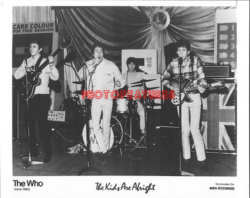 The Who..photo from promoarchive.com/ Photofeatures....