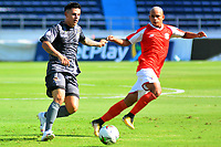 BARRANQUILLA - COLOMBIA, 20-02-2020. Barranquilla y Tigres  en partido de  ida  por la primera ronda de clasificación de la Copa Betplay DIMAYOR 2020 jugado en el estadio Metropolitano Roberto Meléndez de Barranquilla. / Barranquilla   and Tigres for the firts leg match BetPlay DIMAYOR Cup 2020 played at Metropolitano Roberto Melendez stadium in Barranquilla city. Photo: VizzorImage / Alfonso Cervantes / Contribuidor