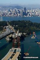 San Francisco Oakland Bay Bridge | Aerial Photography