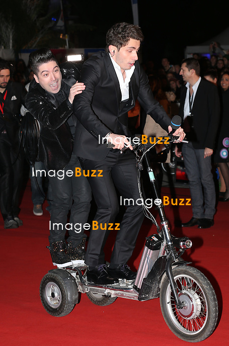 Chris Marques attends the 15th NRJ Music Awards at Palais des Festivals on December 14, 2013