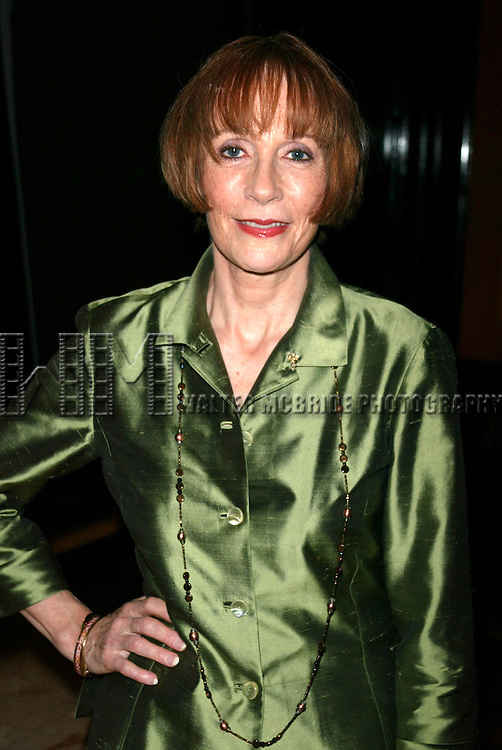 Patricia Elliott <br /> Attending the Broadway Theater Institute 2003 Awards for Excellence held at The Players Club <br /> on Gramercy Park in New York City.<br /> September 15, 2003
